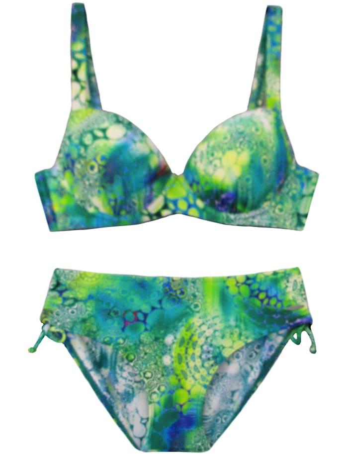 Susa Schalen Bikini mit Bügel, grün