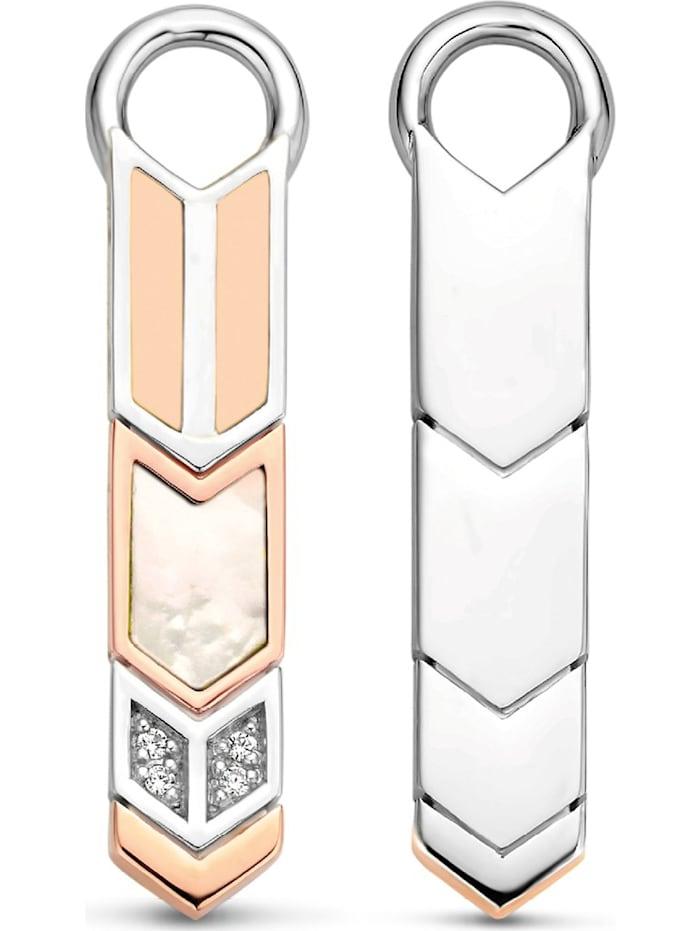 Ti Sento - Milano Damen-Ohrringe 925er Silber Zirkonia