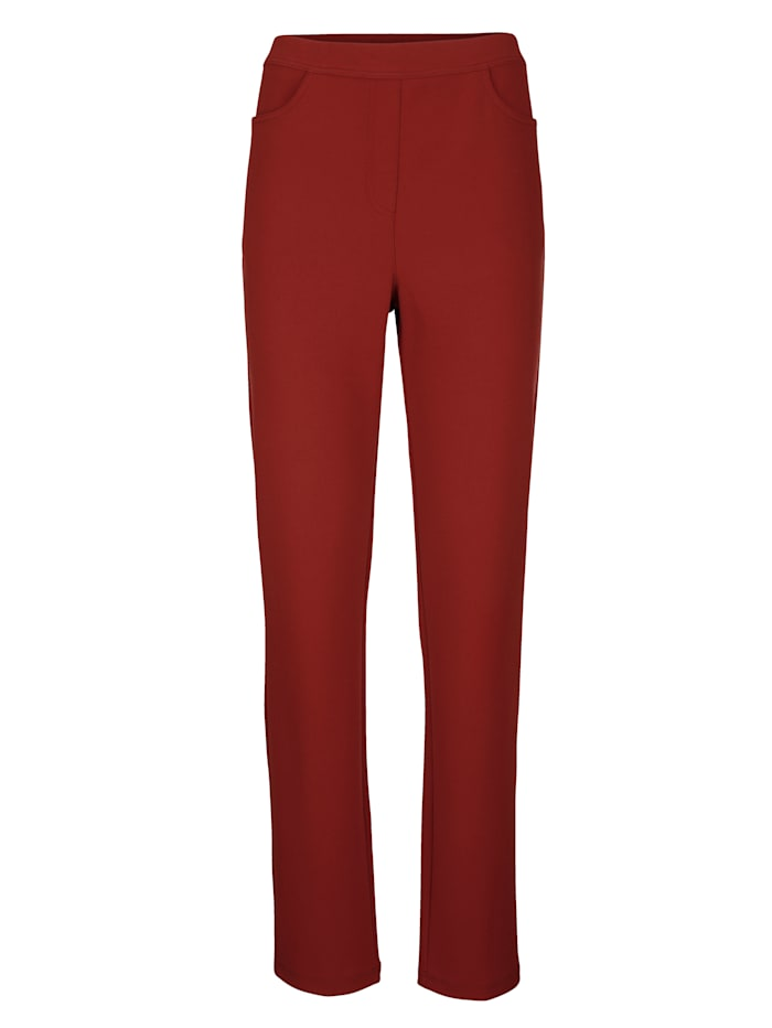 Trousers in a comfortable stretch fabric