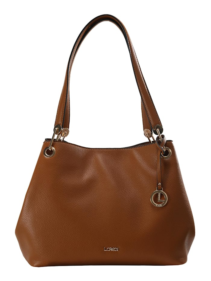 L.Credi Shopper Ebony Shopper, cognac