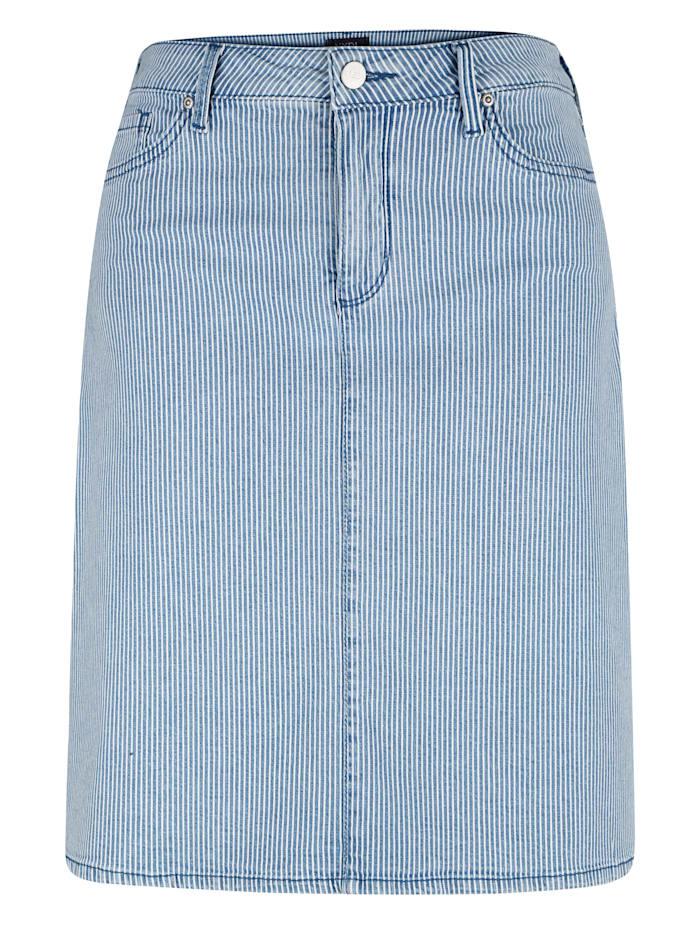 Jupe en jean de coupe classique