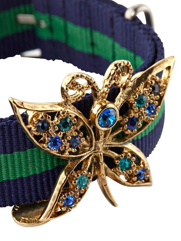 Armband mit Schmetterlingsbrosche