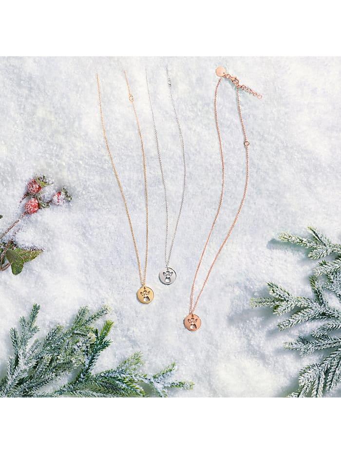 CHRIST Damen-Kette 925er Silber 1 Diamant