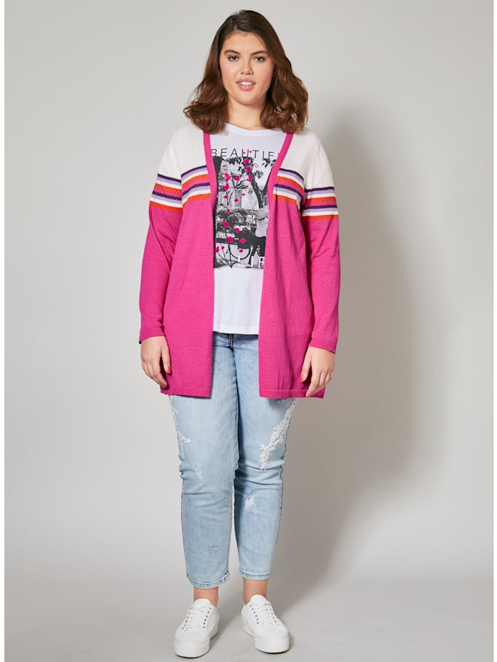 Angel of Style Lang cardigan, Pink