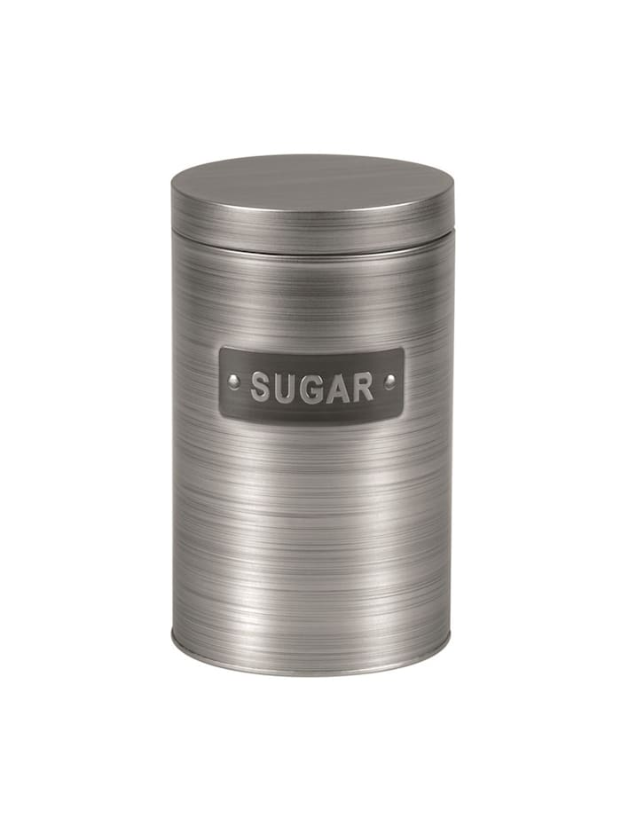 Michelino Zuckerdose Vorratsdose Silber, Silber