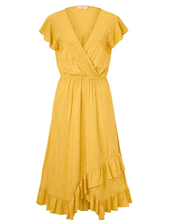 Cream Kleid, Gelb