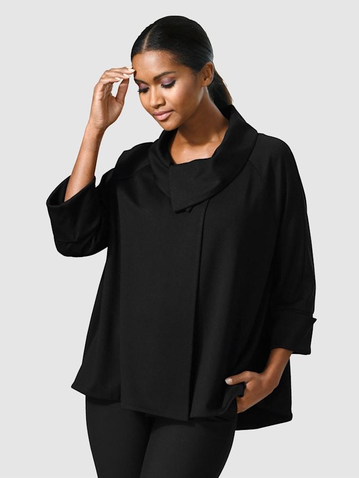 Alba Moda A-linjainen jakku, Musta