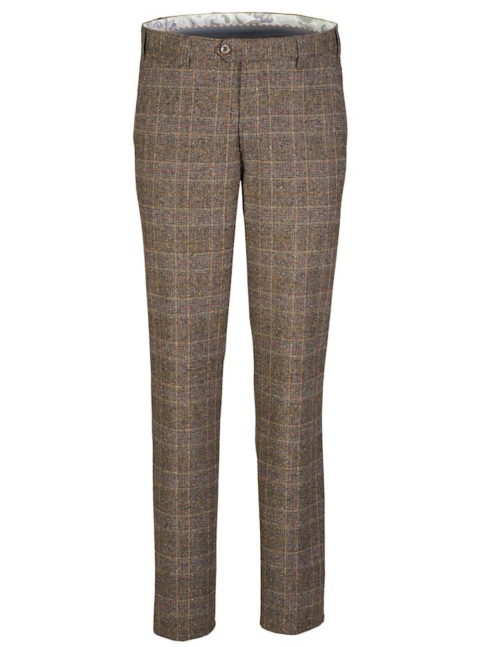 Hose in angesagter Tweed-Optik