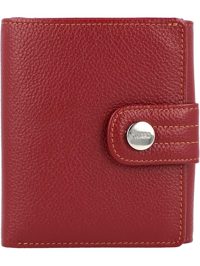 Picard Mellbourne Geldbörse Leder 10 cm, rot