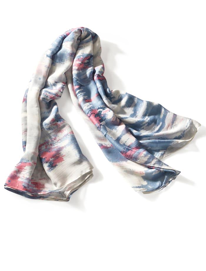 Schal mit allover Muster