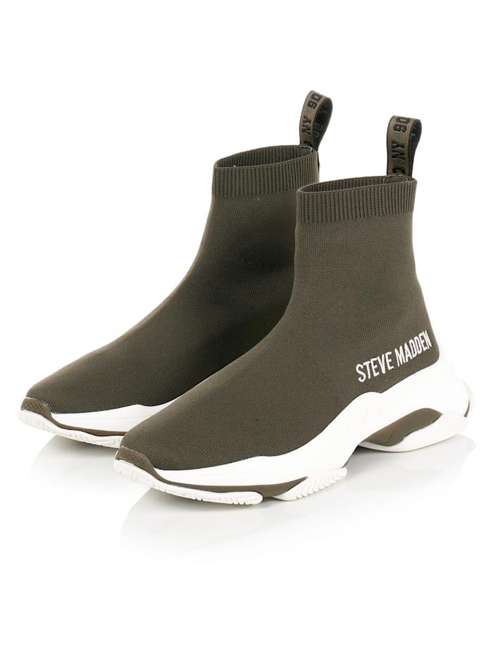 Steve Madden Socksneaker, Oliv
