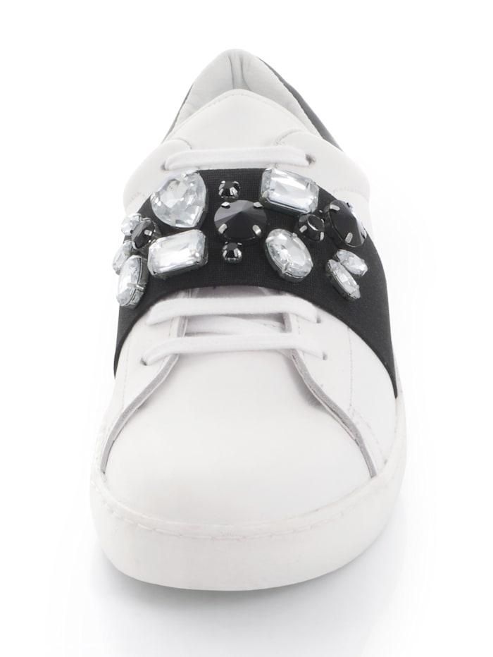 Sneaker modisch mit elastischem breiten Band