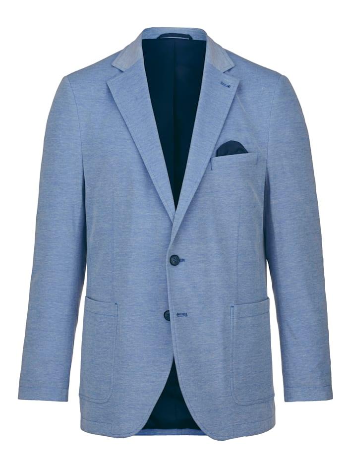 BABISTA Veste de costume en jersey avec 4 poches intérieures, Bleu ciel