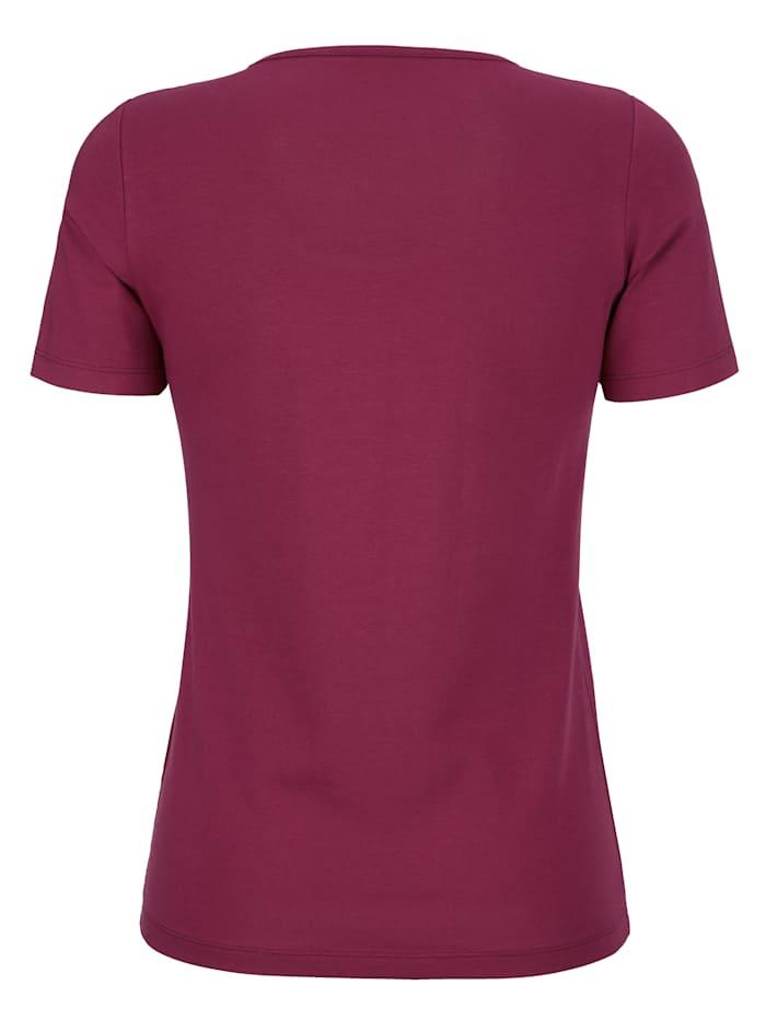Shirt mit hohem Baumwollanteil