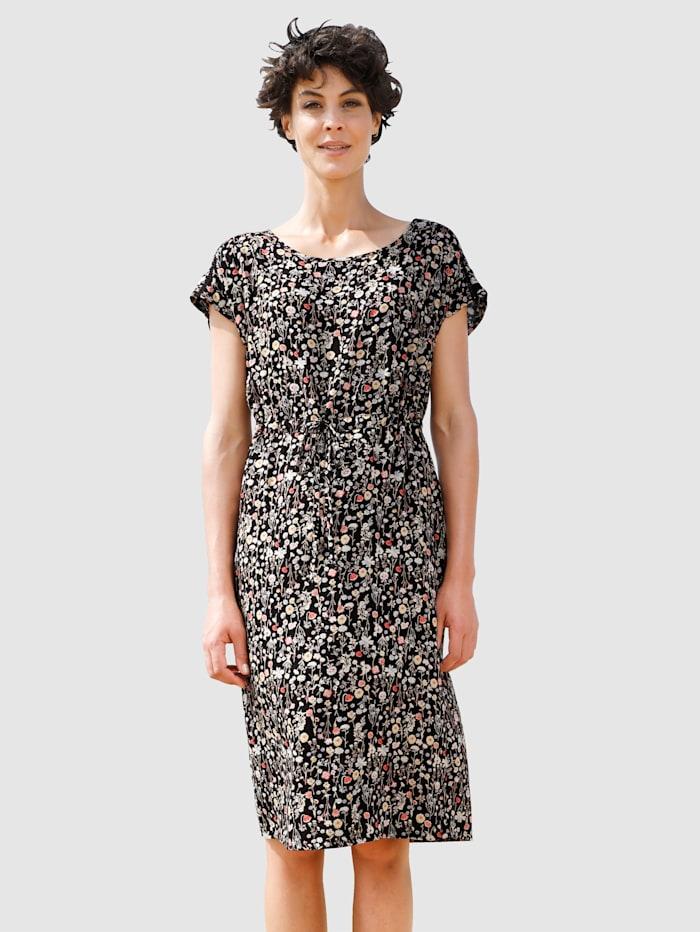 Dress In Kleid mit Crochetspitze, Schwarz