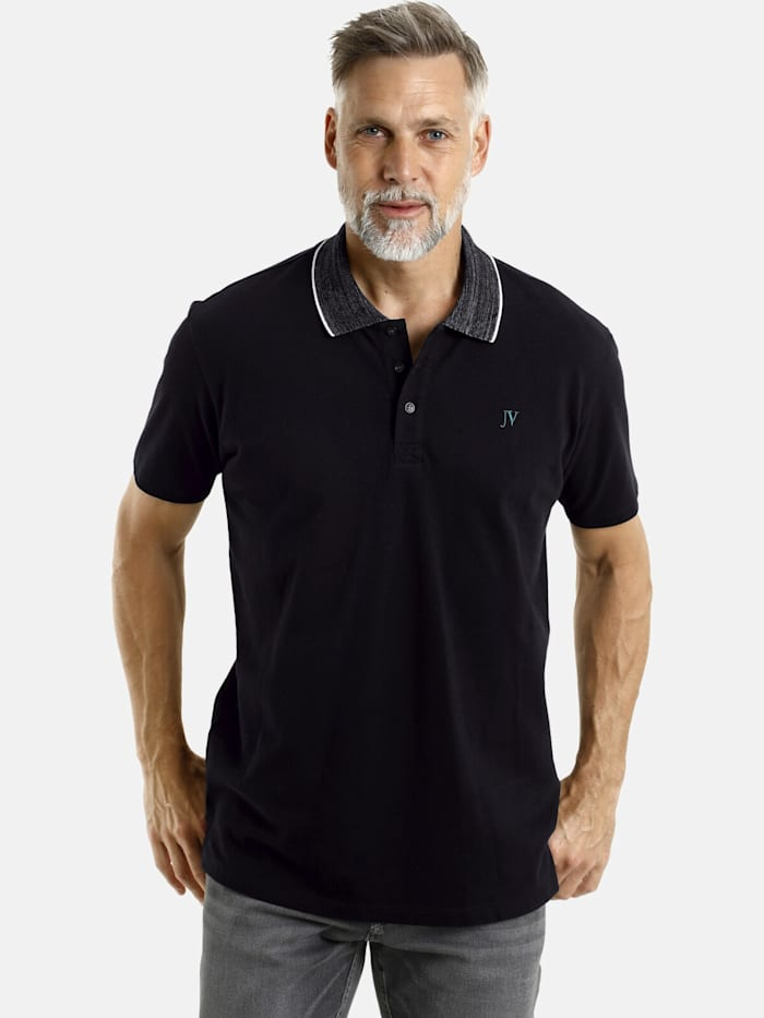 Jan Vanderstorm Jan Vanderstorm Poloshirt BERTIL, schwarz