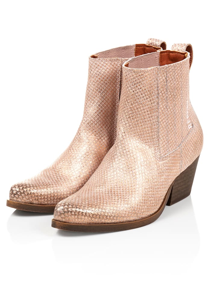 REPLAY Stiefelette, Rosé