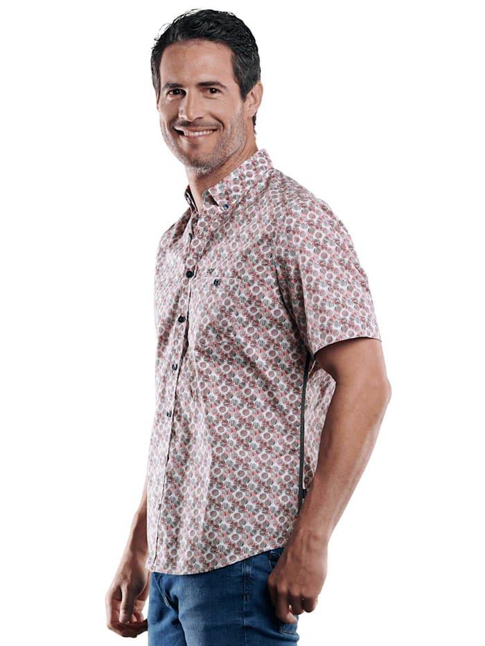 Engbers Hemd kurzarm, Pastellrot