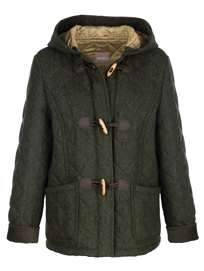 Veste en laine vierge bien chaude