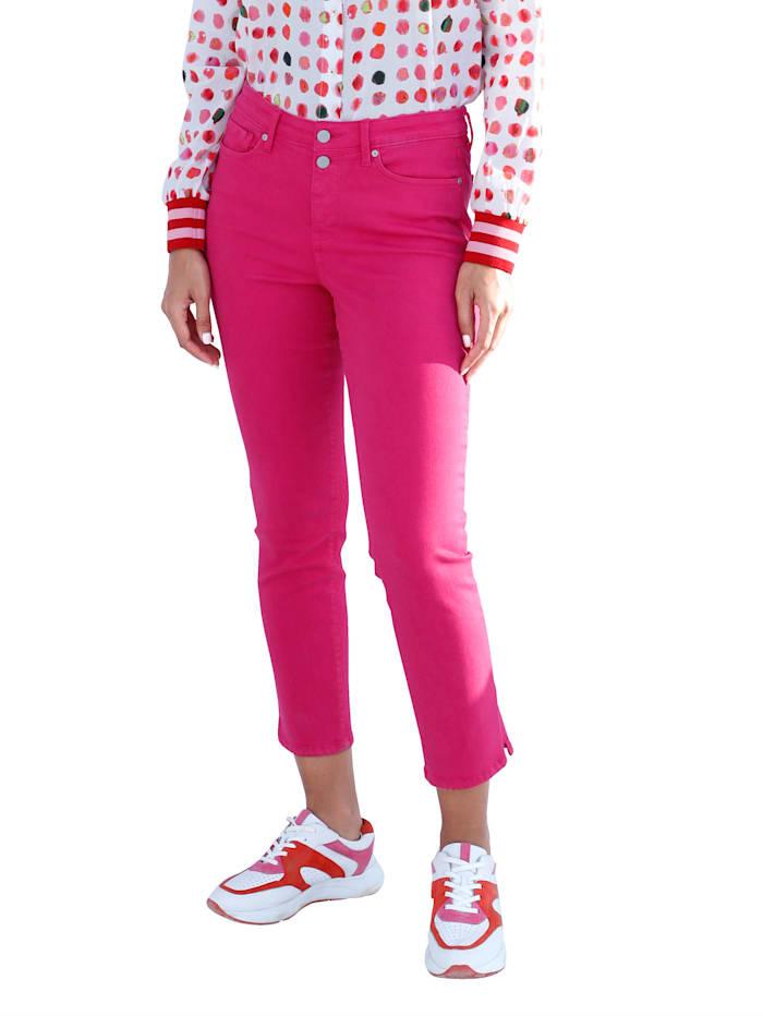 NYDJ Jeans met shaping-effect, Pink