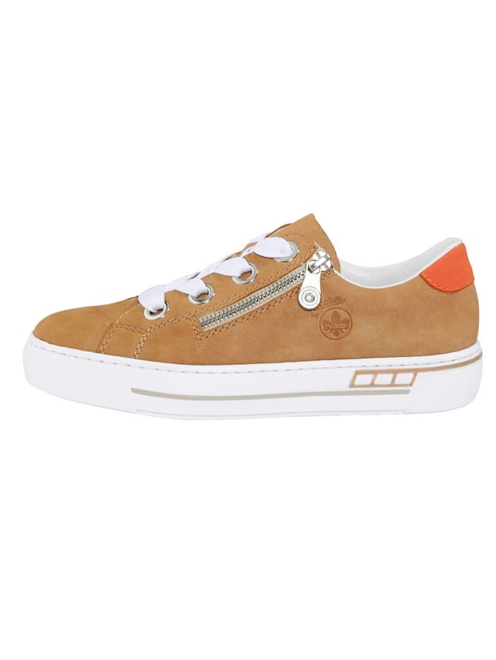 Sneaker in nubucklook