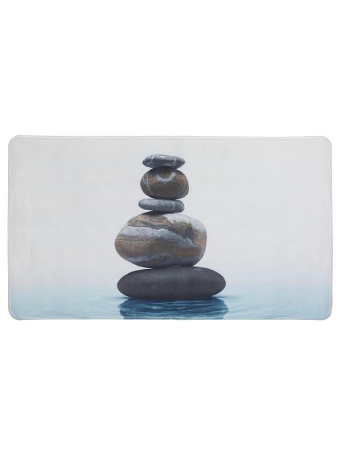 Wenko Wanneneinlage Meditation, 75 x 45 cm, Mehrfarbig