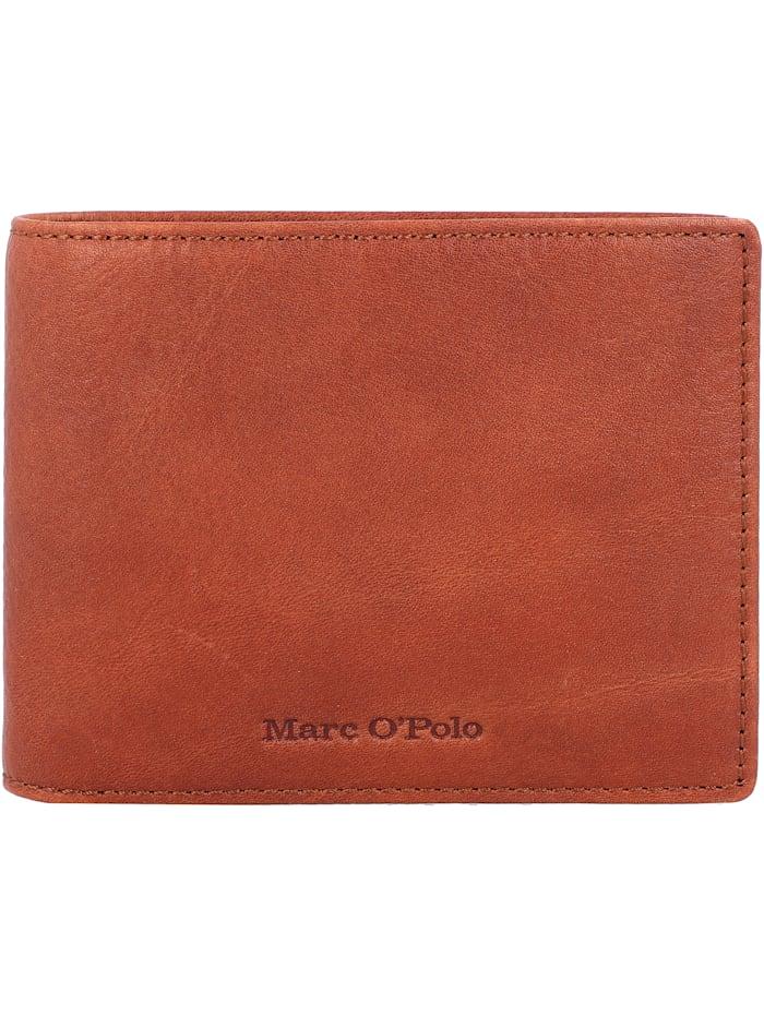 Marc O'Polo Pete Geldbörse Leder 12 cm, essential cognac