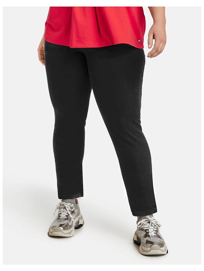 Samoon Slim Fit Jeans Lucy, Black