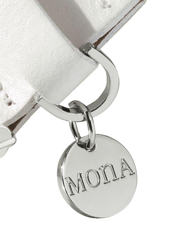 Skinnskärp med MONA-hänge