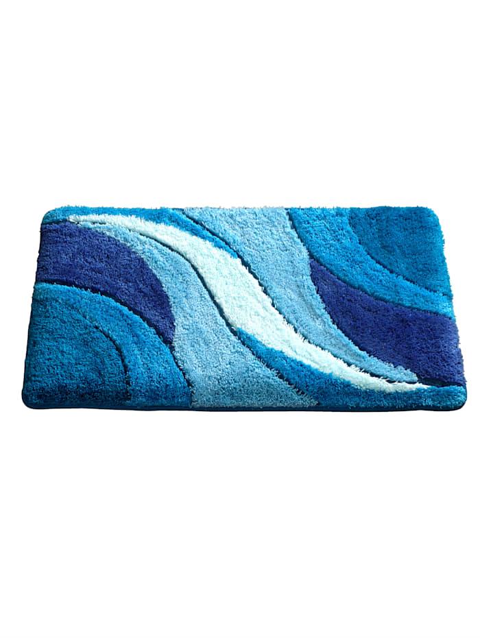 Webschatz Bademattenserie 'Sylt', Blau