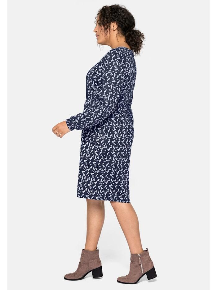 Sheego Jerseykleid aus leichter Baumwollqualität