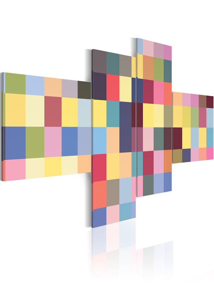 artgeist Wandbild Ästhetik der Farben, mehrfarbig