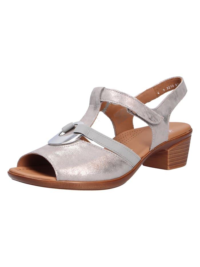 Ara Sandale von Ara, grau