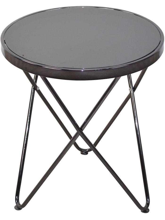 Möbel-Direkt-Online Beistelltisch Stefanie, schwarz