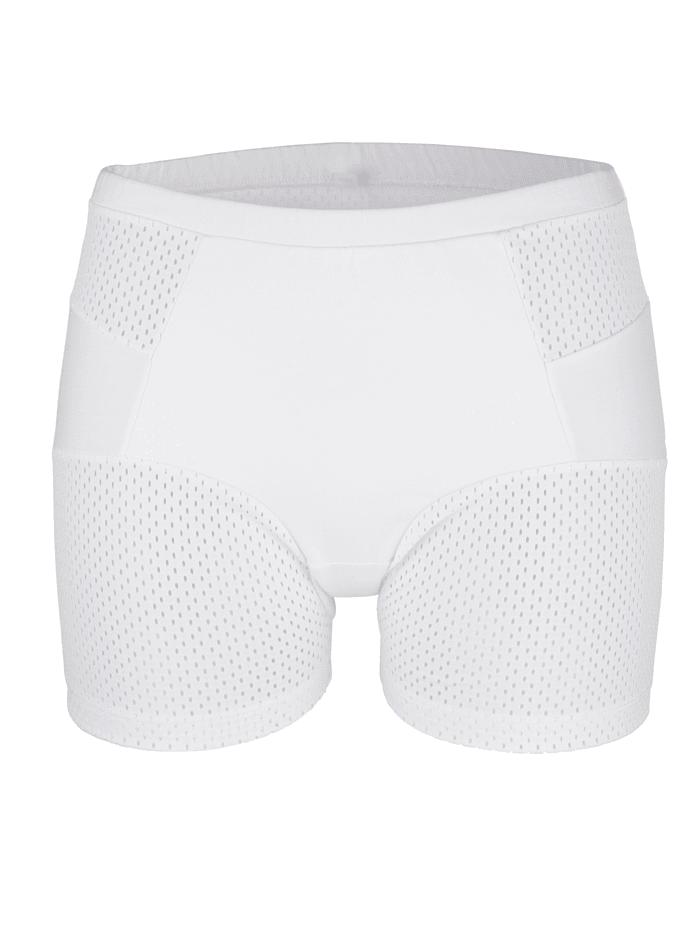 """Blue Moon Panty aus dem """"Cotton made in Africa""""-Programm, Weiß"""