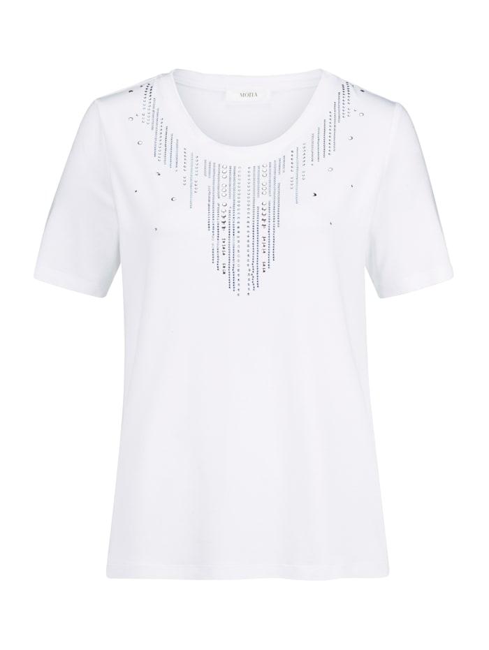 Shirt mit dekorativem Ausschnitt