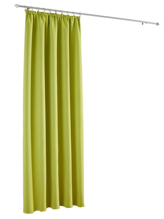 Webschatz Verdunklungsgardine 'Marni', grün