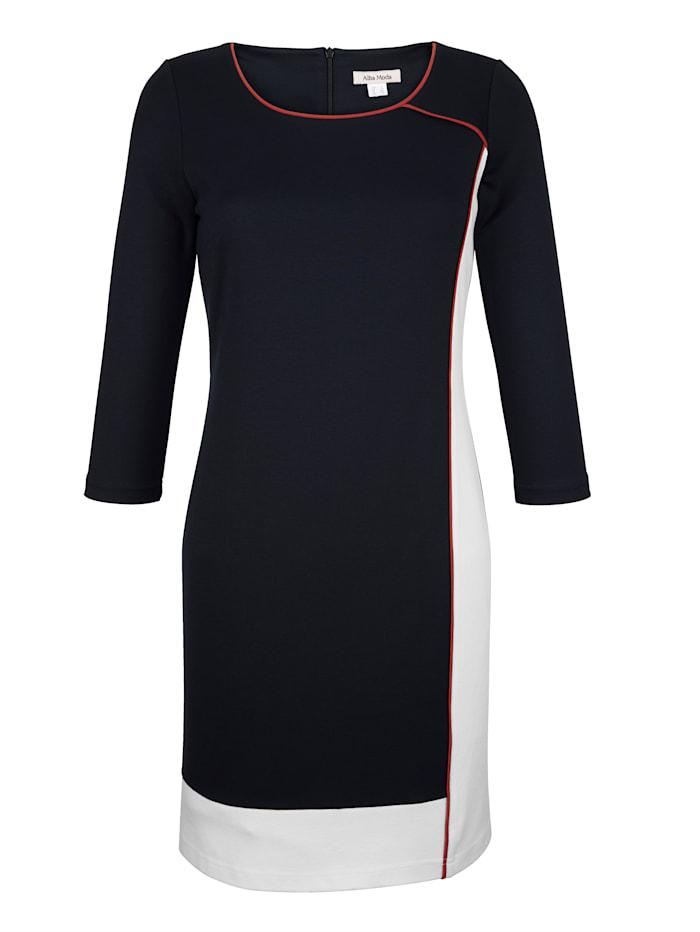 Robe d'aspect color block
