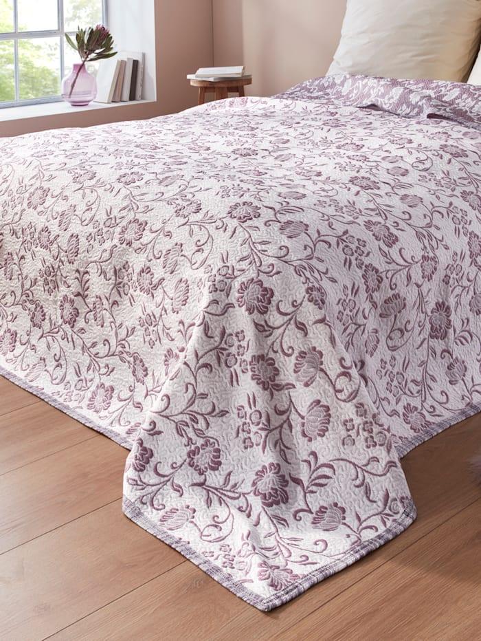 Webschatz Bettüberwurf Lilly, Lila
