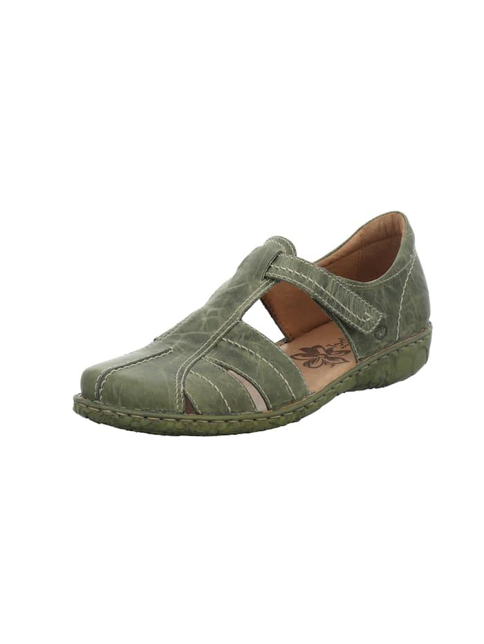 Damen-Sandale Rosalie 22, oliv-kombi