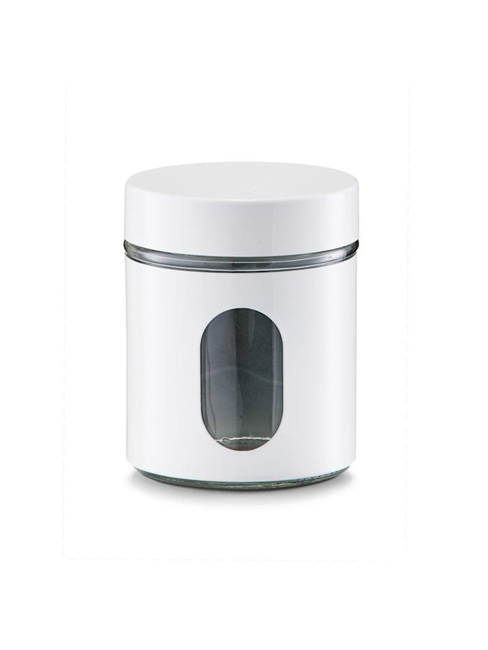 Neuetischkultur Vorratsglas 600 ml, Weiß