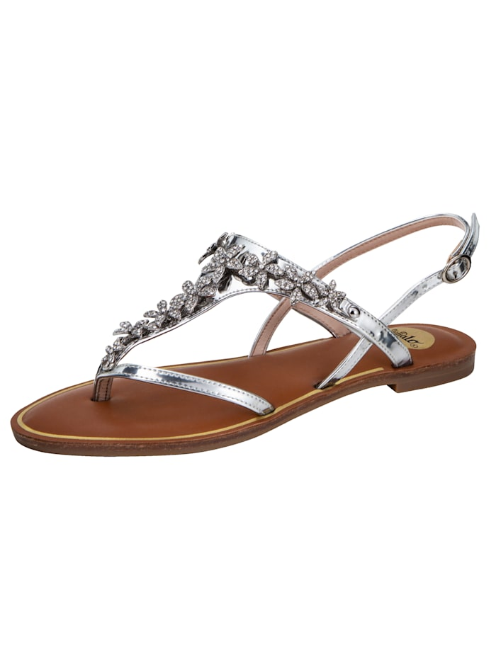 Sandale mit Zehensteg