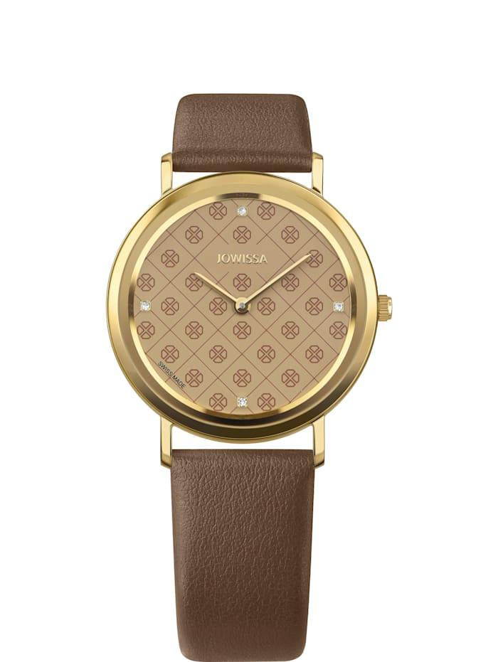 Jowissa Quarzuhr AnWy Swiss Ladies Watch, gold