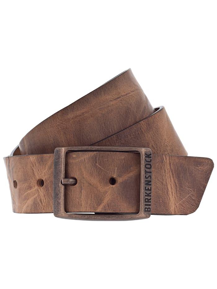 Birkenstock Gürtel Kansas 35mm U, braun
