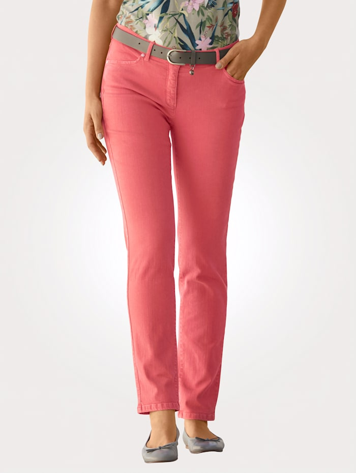 Toni Jeans colored denim, Hellrot