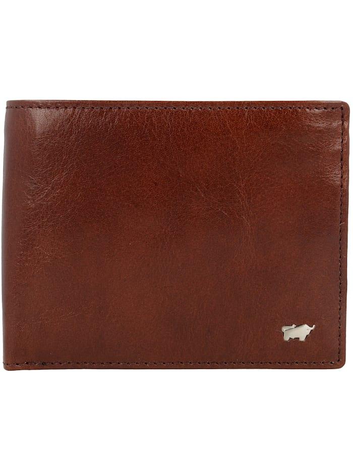 Braun Büffel Country Secure Geldbörse RFID Leder 13 cm, palisandro