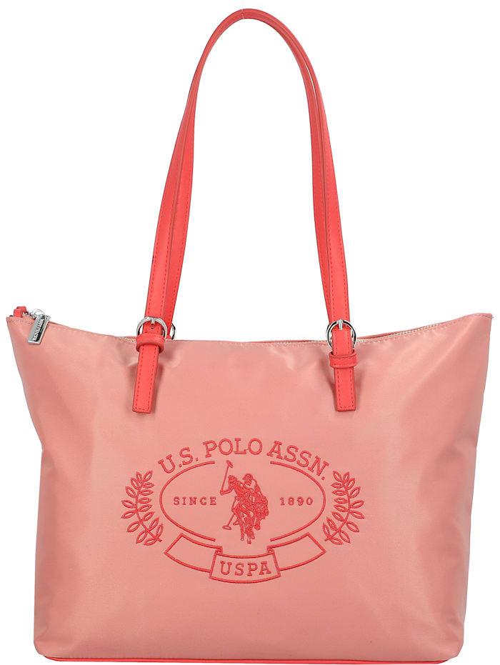 U.S. Polo Assn. Springfield Shopper Tasche 33 cm, peach