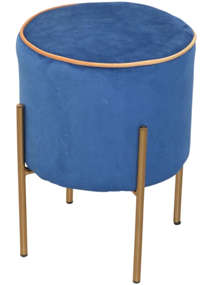 Möbel-Direkt-Online Sitzpouf Daysi, blau