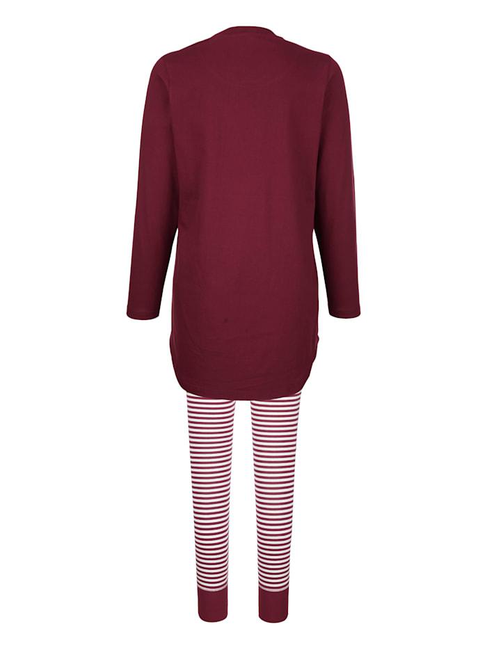 Pyjama met print voor