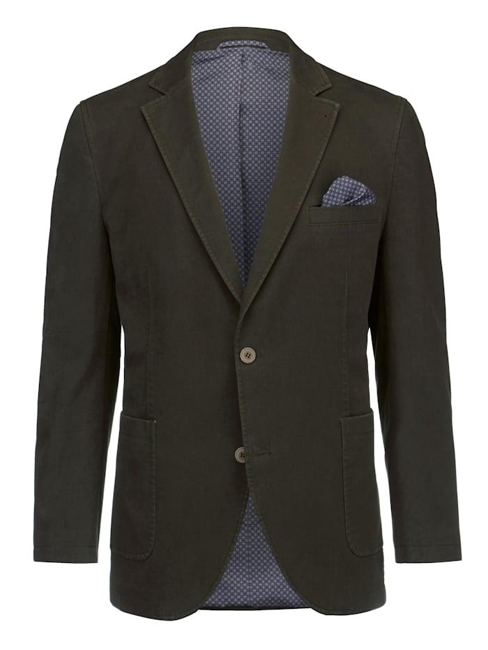 BABISTA Veste de costume en matière finement structurée, Olive